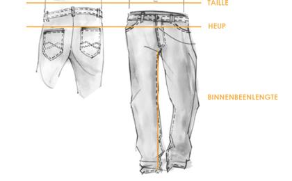Pantalon / Confectiematen