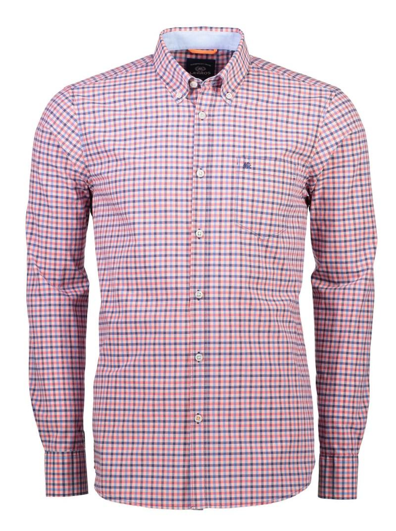 Heren Overhemd Casual.Lerros Casual Heren Overhemd 28d1140 Col 347
