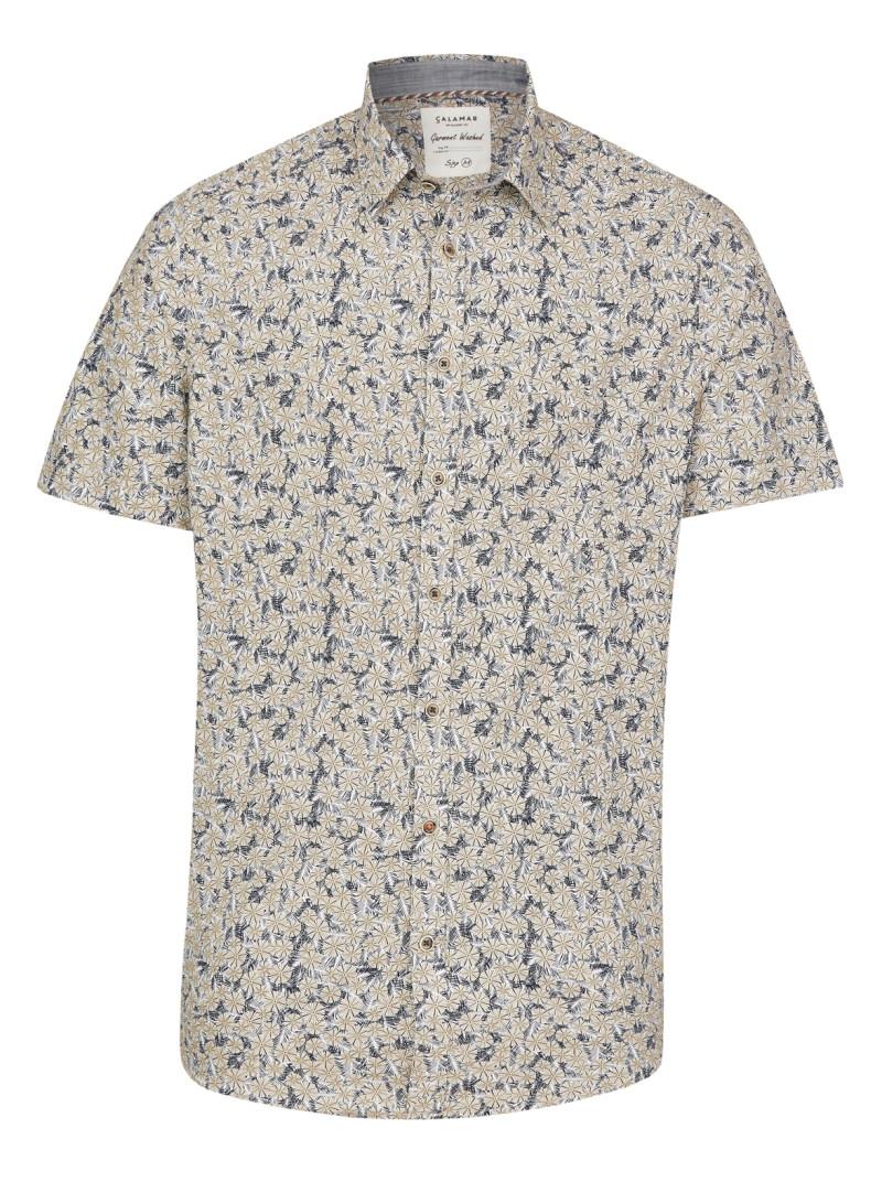 Zomer Overhemd.Calamar Zomer Overhemd 109830 1s22 Color 43