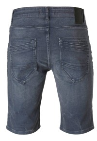Stocker-denim Midgrijs