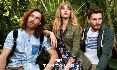 TOM TAILOR Denim: #ttdjustplay (voorjaar / zomer 2017)