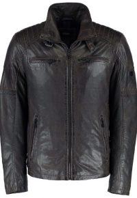 Leren heren jas van DNR 51878 443 kleur: 79
