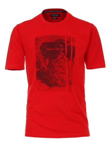 993199700-441_1 Casa moda rood heren shirt korte mouw