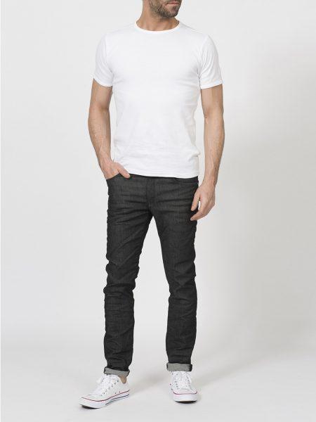 Petrol Industries seaham naked zwarte heren jeans
